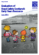 Evaluation of Road Safety Scotland's Early Years Resource (2016)