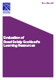 Evaluation of Road Safety Scotland's Learning Resources (2017)